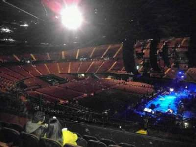 The Forum, section: 213, row: 7, seat: 10