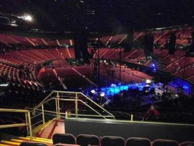The Forum, section: 217, row: 7, seat: 4