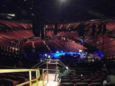 The Forum, section: 218, row: 9, seat: 1