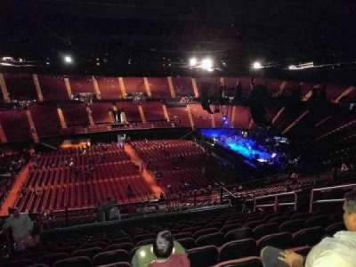 The Forum, section: 209, row: 15, seat: 5