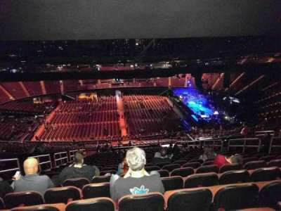 The Forum, section: 209, row: 29, seat: 6