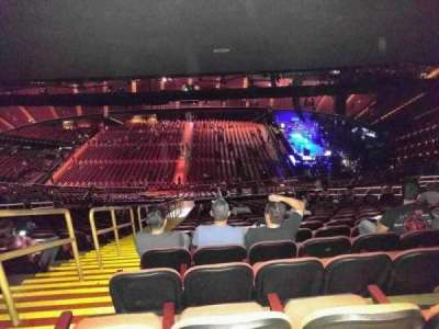 The Forum, section: 210, row: 27, seat: 2