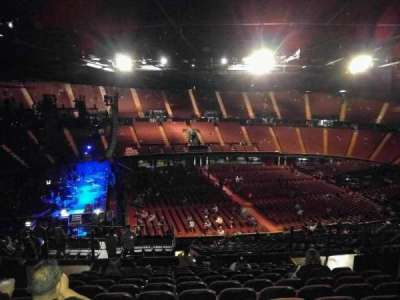 The Forum, section: 225, row: 12, seat: 6