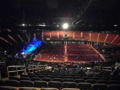The Forum, section: 227, row: 23, seat: 6