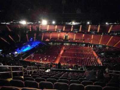 The Forum, section: 228, row: 13, seat: 6