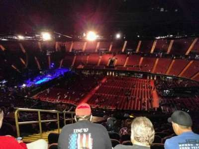 The Forum, section: 229, row: 17, seat: 4