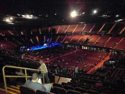 The Forum, section: 231, row: 10, seat: 5