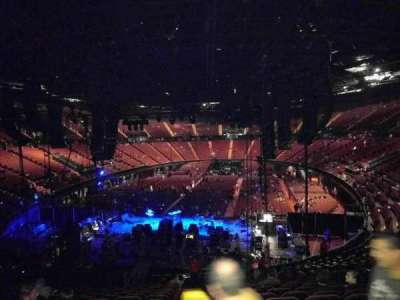 The Forum, section: 219, row: 2, seat: 7