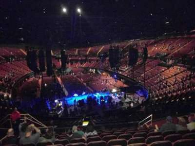 The Forum, section: 217, row: 11, seat: 9