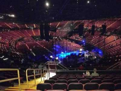 The Forum, section: 216, row: 12, seat: 3