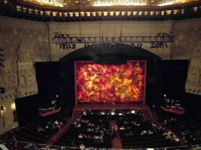 Orpheum Theatre (San Francisco), section: mezz, row: b, seat: 203