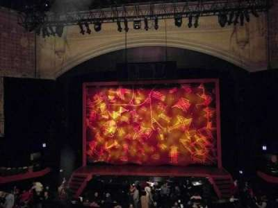 Orpheum Theatre (San Francisco), section: loge, row: b, seat: 104
