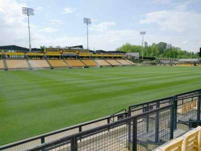 Fifth Third Bank Stadium, section: 122, row: f, seat: 8
