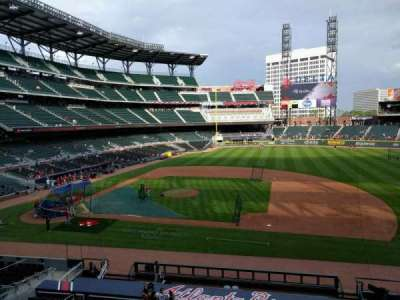 SunTrust Park, section: 218, row: 1, seat: 14