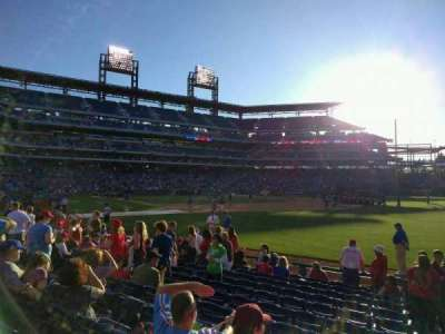 Citizens Bank Park, section: 111, row: 12, seat: 1