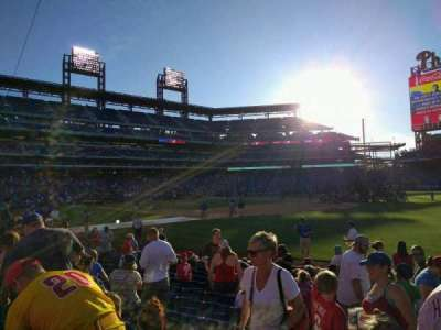 Citizens Bank Park, section: 111, row: 12, seat: 13