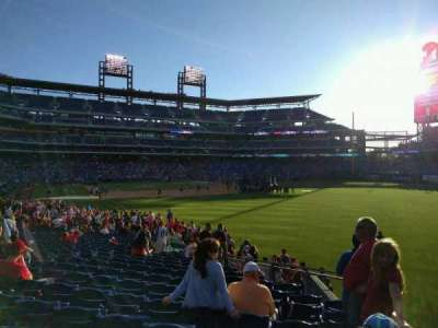 Citizens Bank Park, section: 108, row: 25, seat: 7