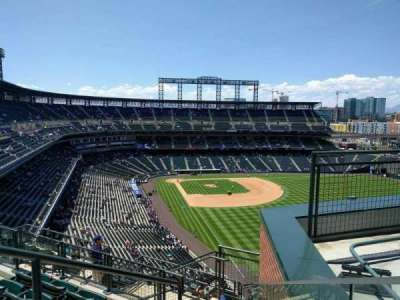 Coors Field section U310
