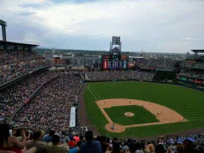 Coors Field section U328