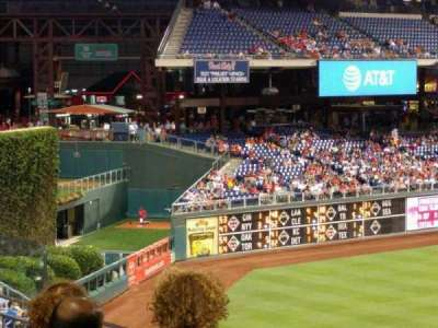 Citizens bank park  section 243