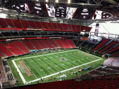 Mercedes-Benz Stadium, section: 317, row: 19, seat: 15