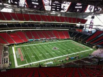 Mercedes-Benz Stadium, section: 316, row: 21, seat: 13