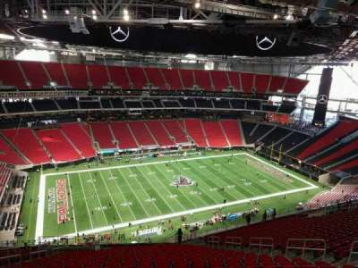 Mercedes-Benz Stadium, section: 315, row: 26, seat: 13