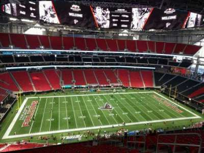 Mercedes-Benz Stadium, section: 314, row: 19, seat: 6