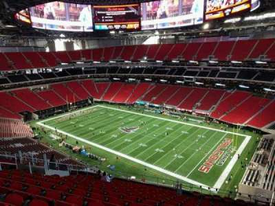 Mercedes-Benz Stadium, section: 306, row: 15, seat: 11