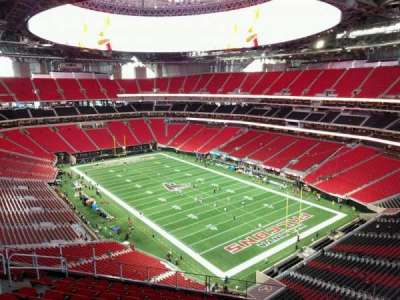 Mercedes-Benz Stadium, section: 303, row: 10, seat: 10
