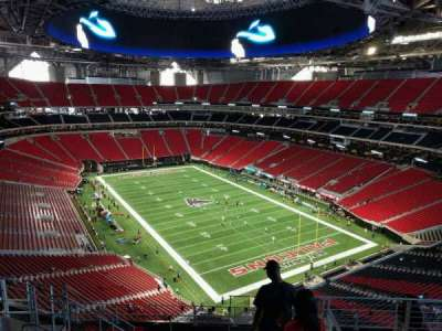 Mercedes-Benz Stadium, section: 302, row: 11, seat: 7