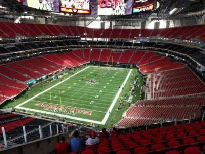 Mercedes-Benz Stadium, section: 350, row: 13, seat: 25