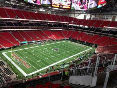 Mercedes-Benz Stadium, section: 346, row: 8, seat: 8