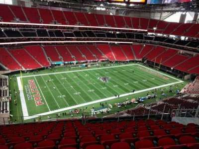 Mercedes-Benz Stadium, section: 344, row: 12, seat: 14
