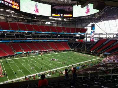 Mercedes-Benz Stadium, section: 216, row: 12, seat: 7