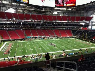 Mercedes-Benz Stadium, section: 214, row: 9, seat: 3