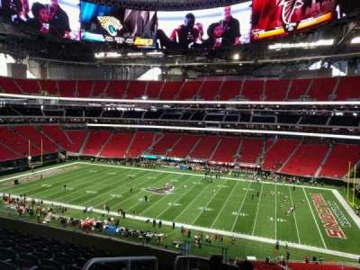 Mercedes-Benz Stadium, section: 207, row: 9, seat: 23