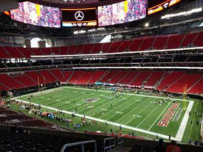 Mercedes-Benz Stadium, section: 205, row: 12, seat: 23