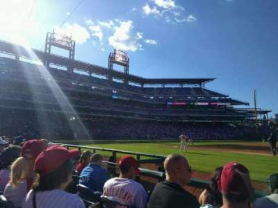 Citizens Bank Park, section: 114, row: 4, seat: 4