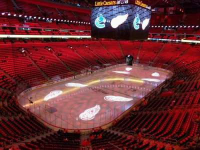 Little Caesars Arena, section: m34, row: c, seat: 7