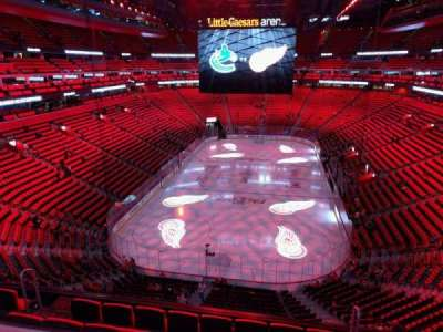 Little Caesars Arena, section: m2, row: 2, seat: 15