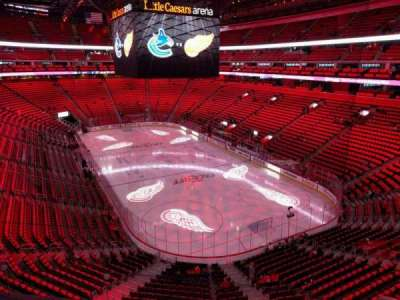Little Caesars Arena, section: m5, row: d, seat: 16