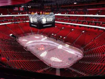 Little Caesars Arena, section: 207, row: 5, seat: 10