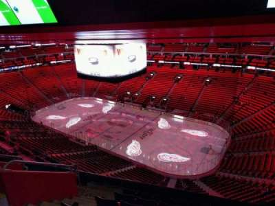 Little Caesars Arena, section: 208, row: 7, seat: 17