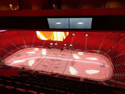 Little Caesars Arena, section: 208, row: 10, seat: 7