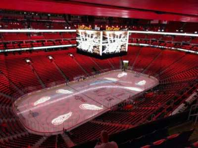 Little Caesars Arena, section: 230, row: 5, seat: 8