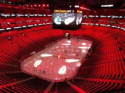 Little Caesars Arena, section: 232, row: 1, seat: 10