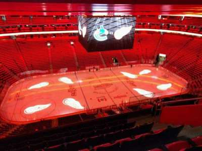 Little Caesars Arena, section: 228, row: 7, seat: 8