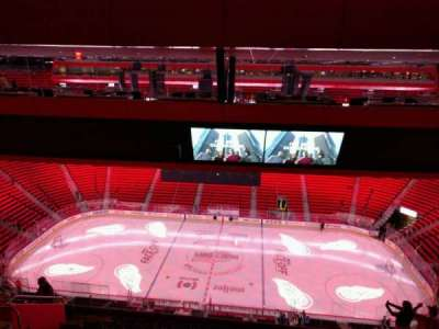 Little Caesars Arena, section: 225, row: 11, seat: 10