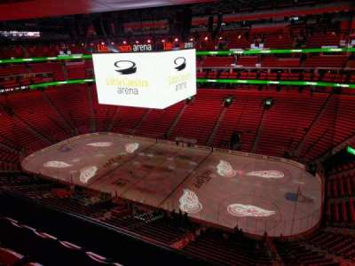 Little Caesars Arena, section: 224, row: 4, seat: 8